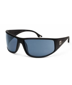 Quiksilver Akka Dakka Sunglasses Black Matte/Grey Lens