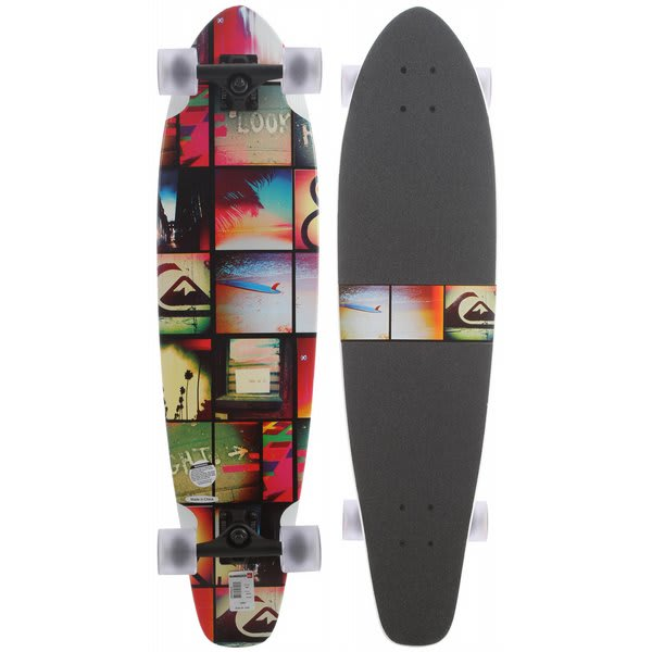 Quiksilver Audit In Progress Longboard Skateboard