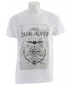 Quiksilver Balsa Guns T-Shirt White