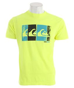 Quiksilver Bold T-Shirt Neon Yellow