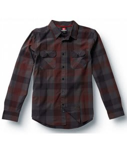 Quiksilver Buff Chip L/S Shirt Gunmetal
