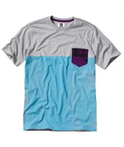 Quiksilver Core Blockered T-Shirt Zinc