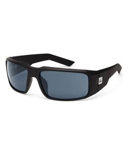 Quiksilver Cruise Sunglasses Black Half Matte/Grey Lens
