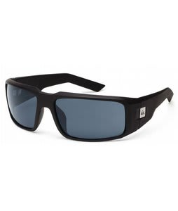 Quiksilver Cruise Sunglasses Black Matte/Grey Lens