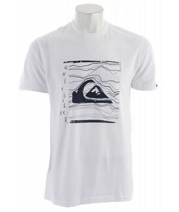 Quiksilver Distort T-Shirt White