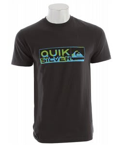 Quiksilver Drawing Near Slim Fit T-Shirt Dark Charcoal