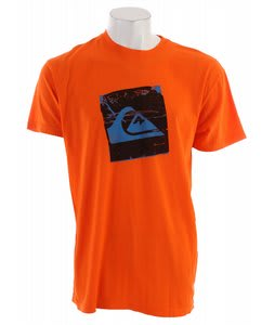 Quiksilver Drop Box Neon T-Shirt Popsicle