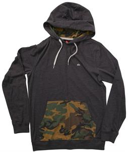 Quiksilver El Patches Hoodie Black Heather