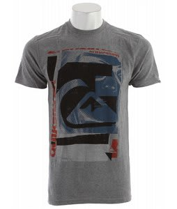 Quiksilver Expiration Date T-Shirt Smoke Heather