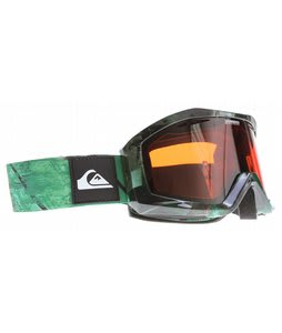 Quiksilver Fenom Goggles Camouflage w/ Orange/Chrome Lens