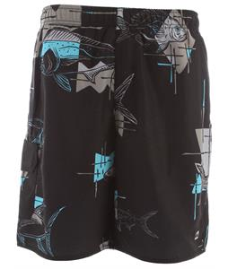 Quiksilver Go Deep Volley Boardshorts Black