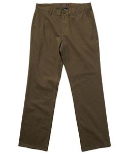 Quiksilver Gone Bananas Pants Military