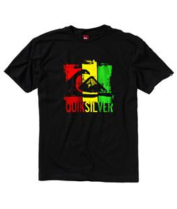 Quiksilver Ground Floor T-Shirt Black