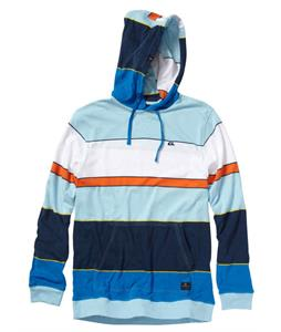 Quiksilver Hilltop Hoodie Smith Blue