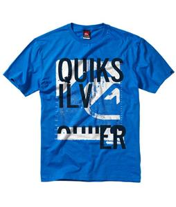 Quiksilver Hitched T-Shirt Blue Velvet