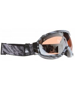 Quiksilver Hubble Goggles Black/Grey w/ HD Mirror Lens
