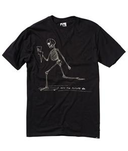 Quiksilver Into The Future T-Shirt Dark Charcoal