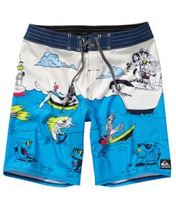 Quiksilver Lake Haveabrew Boardshorts Cloud