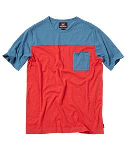 Quiksilver Leg Crayze Shirt Chili Pepper