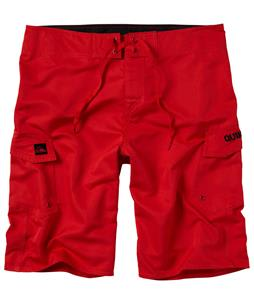 Quiksilver Manic 22in Boardshorts Comp Red