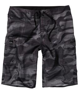 Quiksilver Manic Plamo Boardshorts Gunsmoke