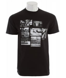 Quiksilver Medley Slim Fit T-Shirt Black
