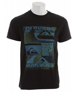Quiksilver Mixtape T-Shirt Black