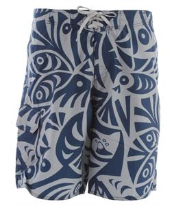 Quiksilver Mondo Hybrid Boardshorts Dark Blue