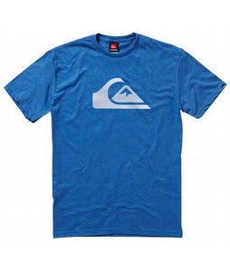 Quiksilver Mountain Wave T-Shirt Heather Blue
