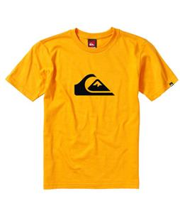 Quiksilver Mountain Wave T-Shirt Orange Peel