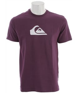 Quiksilver Mountain Wave T-Shirt Purple
