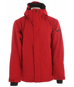 Quiksilver Next Mission Solid Snowboard Jacket Red