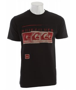 Quiksilver No Regrets T-Shirt Black