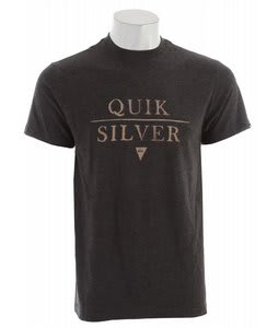Quiksilver Not Equal T-Shirt Charcoal Heather