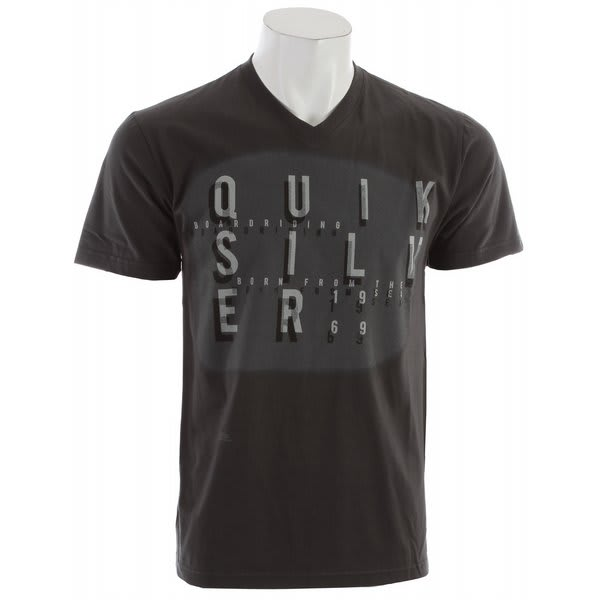 Quiksilver Origin Slim Fit Vneck T-Shirt