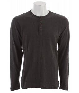 Quiksilver Rearview Henley Dark Charcoal