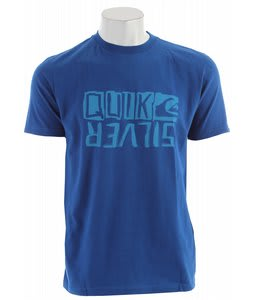 Quiksilver Retrofit T-Shirt Blue