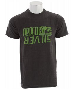 Quiksilver Retrofit T-Shirt Charcoal Heather