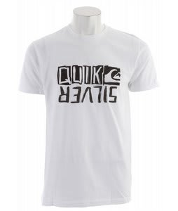 Quiksilver Retrofit T-Shirt White
