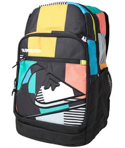 Quiksilver Schoolie Backpack Big Check 32L