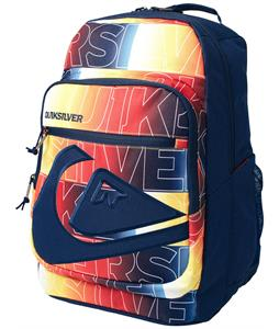 Quiksilver Schoolie Backpack Get Weird Sunrise 32L