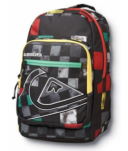 Quiksilver Schoolie Backpack Rasta