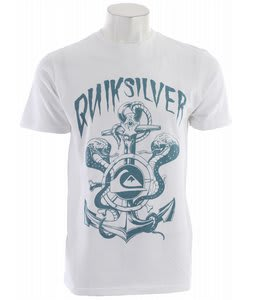 Quiksilver Sea Cobra T-Shirt White