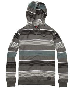 Quiksilver Sea Wall Hoodie Charcoal