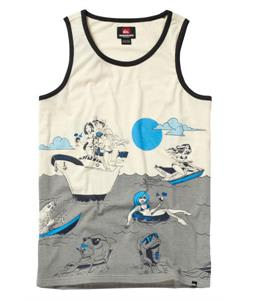 Quiksilver Sinking Teeth Tank White