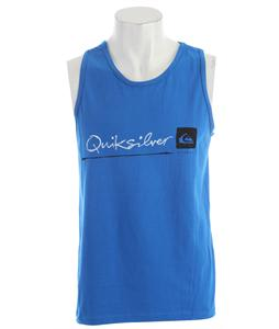 Quiksilver Standard Tank Blue Velvet