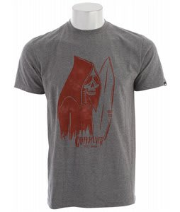 Quiksilver Still Rippin T-Shirt Smoke Heather