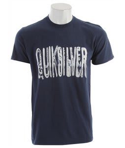 Quiksilver Stroker Solar Powered T-Shirt Navy