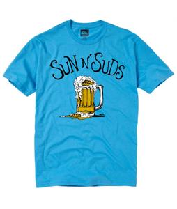 Quiksilver Sun N Suds T-Shirt Mediterranean