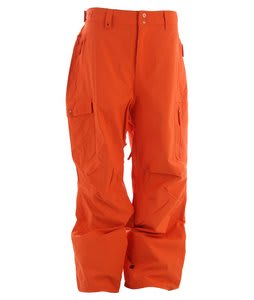 Quiksilver Surface Shell Snowboard Pants Orange